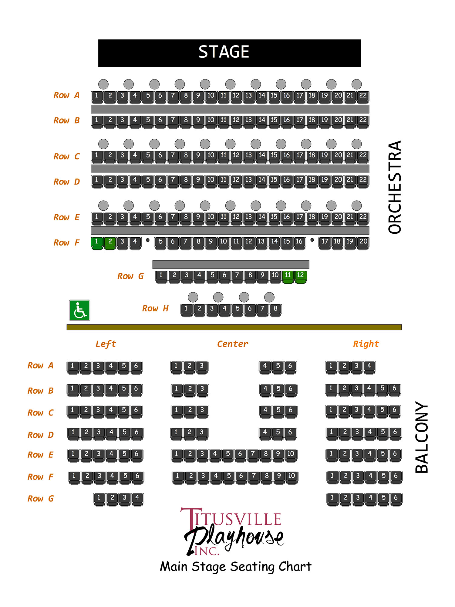 Titusville Playhouse Inc Venue Black Box Theatre Diagram Ucf Seating Charts Our 2nd Stage Was Opened In 2014 And Features A 42 Seat Blackbox To Present Dramas Comedies An Intimate Setting Is General Admission